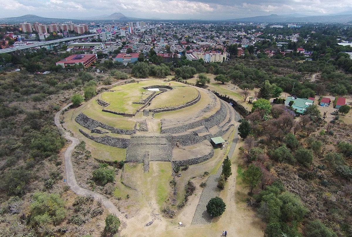 Sitios arqueológicos CDMX cuicuilco
