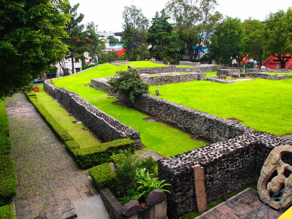 Sitios arqueológicos CDMX Mixcoac