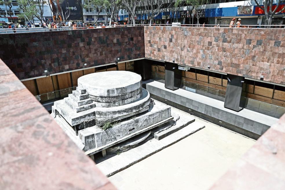 Sitios arqueológicos CDMX Pino Suárez